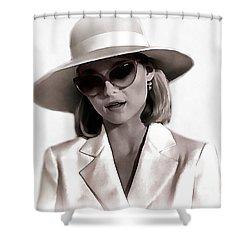 Michelle Pfeiffer Shower Curtain