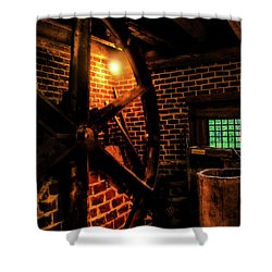 Shower Curtain featuring the photograph Michie Tavern No. 4 by Laura DAddona