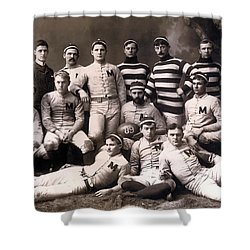 Michigan Wolverines Football Heritage 1888 Shower Curtain