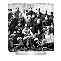 Michigan Wolverines Football Heritage  1895 Shower Curtain by Daniel Hagerman