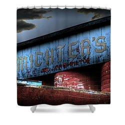 Michter's Brew Shower Curtain by Scott Wyatt
