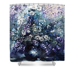 Mid Spring Blooms Shower Curtain