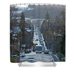 Mid Street - Keith - Banffshire Shower Curtain