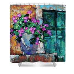 Mid Summer Shower Curtain by Anastasija Kraineva