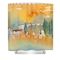 Midday 07 Shower Curtain by Miki De Goodaboom