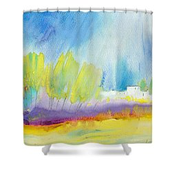 Midday 08 Shower Curtain by Miki De Goodaboom