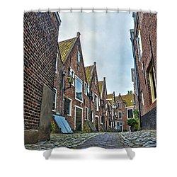 Middelburg Alley Shower Curtain