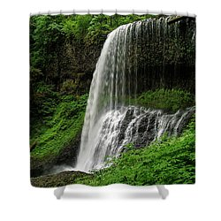 Middle Falls Shower Curtain