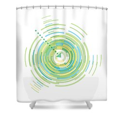 Middle Of Spring Shower Curtain