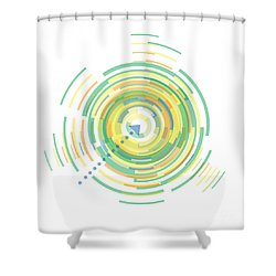 Middle Of Summer Shower Curtain