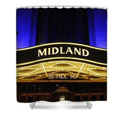 Midland Theater Shower Curtain