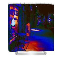 Midnight Coffee Dream Shower Curtain