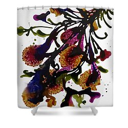 Midnight Magic-2 Shower Curtain