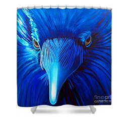 Midnight Magic Shower Curtain