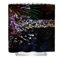 Midnight Oasis Shower Curtain