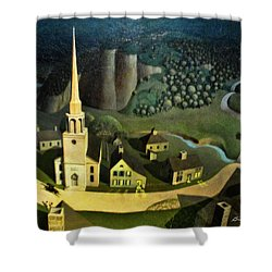 Midnight Ride Of Paul Revere Shower Curtain