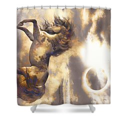 Midnight Run Shower Curtain by Yanni Theodorou