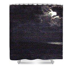 Midnight Shower Curtain by Priscilla Richardson