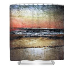 Midnight Sands Gloucester Shower Curtain