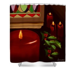 Midnight Service Shower Curtain