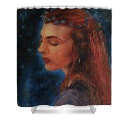 Midsummer Night Fairy Shower Curtain by Brian Kardell