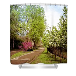 Midtown Greenway Spring In Minneapolis Shower Curtain