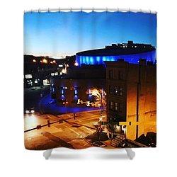 Midtown Neon Shower Curtain