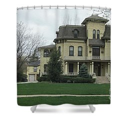 Midwest Home Shower Curtain by Kathie Chicoine