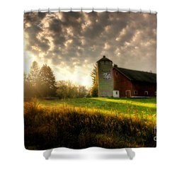 Midwest Morning Shower Curtain by Joel Witmeyer