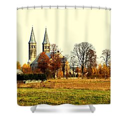 Miedzierza Church Shower Curtain