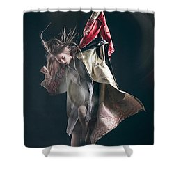 Miegakure - The Fight #3 Shower Curtain