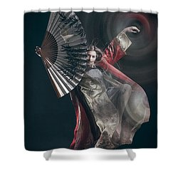 Miegakure - The Fight #4 Shower Curtain