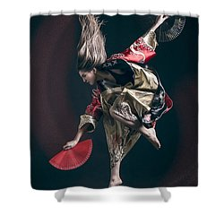 Miegakure - The Fight #6 Shower Curtain