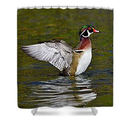 Mighty Fine Shower Curtain