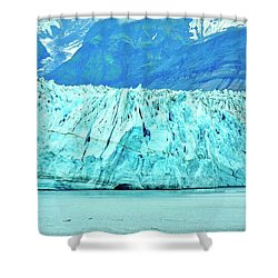 Mighty Hubbard Glacier Shower Curtain