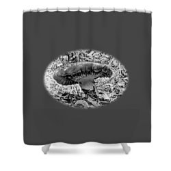Mighty Mushroom T Shirt Style Shower Curtain