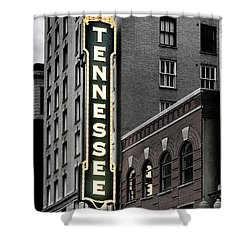 Mighty Tennessee Shower Curtain