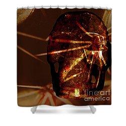 Migraine - The Pierced Skull Shower Curtain