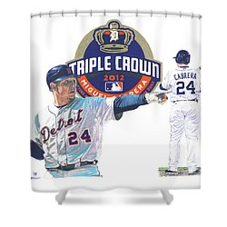 Miguel Cabrera Shower Curtain