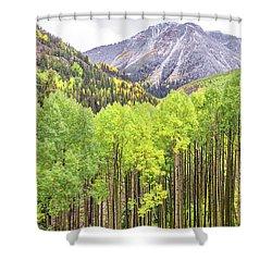 Miguel County Colorado Shower Curtain
