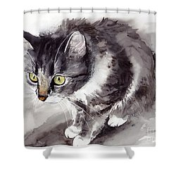 Mike Mice Catcher Shower Curtain