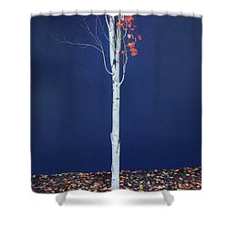 Miksang 7 Coming Soon Shower Curtain by Theresa Tahara
