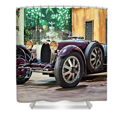 Shower Curtain featuring the photograph Mile-a-minute by Eduard Moldoveanu