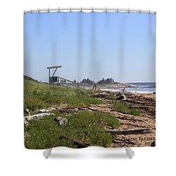 Mile Beach Shower Curtain