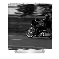 Shower Curtain featuring the photograph Miles And More... by Ramabhadran Thirupattur