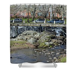 Milford Center  Shower Curtain