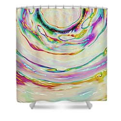 Milk Effects No3 Shower Curtain