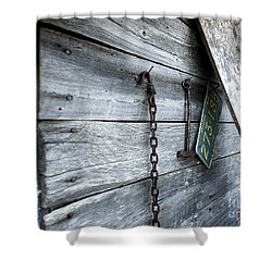 Milk Shed Shower Curtain