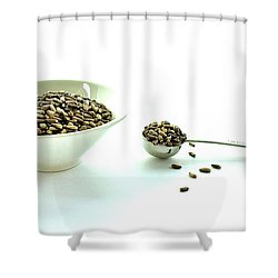 Milk Thistle Seeds Shower Curtain