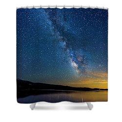 Milky Way 6 Shower Curtain